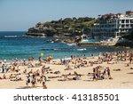 bondi beach australia   march... | Shutterstock . vector #413185501