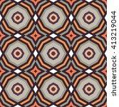 retro tropical tapa cloth...   Shutterstock .eps vector #413219044