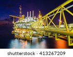 origin of world energy and... | Shutterstock . vector #413267209