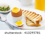 Soft Boiled Egg With Toast ...