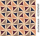 abstract geometric hipster... | Shutterstock .eps vector #413296969