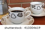 coffee for two | Shutterstock . vector #413304619