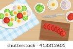 vector illustration background. ... | Shutterstock .eps vector #413312605