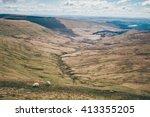 brecon beacons | Shutterstock . vector #413355205
