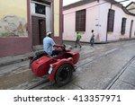 santiago de cuba  cuba   ... | Shutterstock . vector #413357971