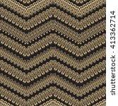 vector abstract seamless zig... | Shutterstock .eps vector #413362714