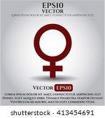 female icon vector illustration   Shutterstock .eps vector #413454691