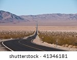 Scenic Bending And Wavy Road In ...