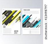 abstract backgrounds set....   Shutterstock .eps vector #413498797