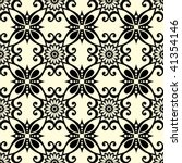 Ornate Seamless Pattern  Vecto...