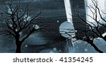 four dark and cold grunge web... | Shutterstock . vector #41354245