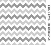 retro chevron pattern background with light grey.greeting card | Shutterstock vector #413547055