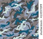 camouflage pattern | Shutterstock .eps vector #413557099