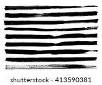 black grungy vector abstract... | Shutterstock .eps vector #413590381