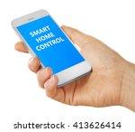 smart home app installing on... | Shutterstock . vector #413626414