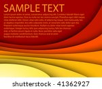 abstract red background with... | Shutterstock .eps vector #41362927