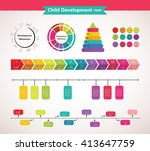 baby development icon  child... | Shutterstock .eps vector #413647759