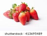 strawberries | Shutterstock . vector #413695489
