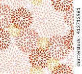 splash drops seamless pattern.... | Shutterstock .eps vector #413712961