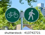 Bicycle And Pedestrian Shared...