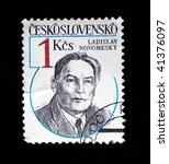 czechoslovakia   circa 1970s  a ...   Shutterstock . vector #41376097