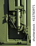 military steel bodywork  green