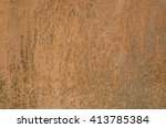 aged rusty iron texture for use ...   Shutterstock . vector #413785384
