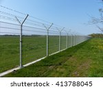 Security Fence Of An...