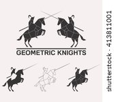 Knights Logo Set. Knights...
