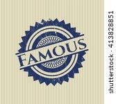 famous rubber grunge texture... | Shutterstock .eps vector #413828851