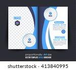 multipurpose waves elements...   Shutterstock .eps vector #413840995