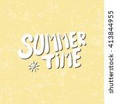 conceptual hand drawn phrase... | Shutterstock .eps vector #413844955