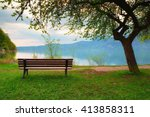 Empty Bench At Spring Mountain...