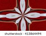 abstract design in various... | Shutterstock . vector #413864494