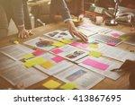 business corporation... | Shutterstock . vector #413867695