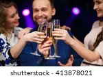 party  holidays  celebration ... | Shutterstock . vector #413878021