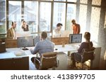 business corporation... | Shutterstock . vector #413899705