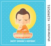 Happy Buddha's Birthday. Cute...