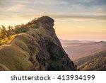 top of mountain in monjong ... | Shutterstock . vector #413934199