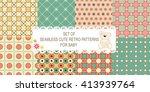set of 8 retro different vector ... | Shutterstock .eps vector #413939764