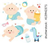 baby.illustration | Shutterstock .eps vector #413942371