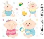 baby.vector | Shutterstock .eps vector #413942374