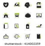 e commerce icon set for web... | Shutterstock .eps vector #414002359