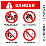 no smoking  no open flame  no...