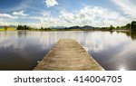 Panorama Landscape In Bavaria...