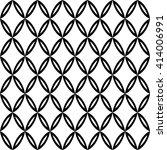 vector modern seamless geometry ... | Shutterstock .eps vector #414006991