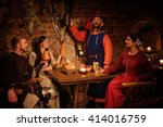 Medieval People Eat And Drink...