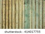 old zinc texture background | Shutterstock . vector #414017755
