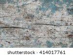 old wooden wall texture... | Shutterstock . vector #414017761