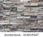 stone brick texture background | Shutterstock . vector #414019267